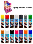 Spray couleurs cheveux