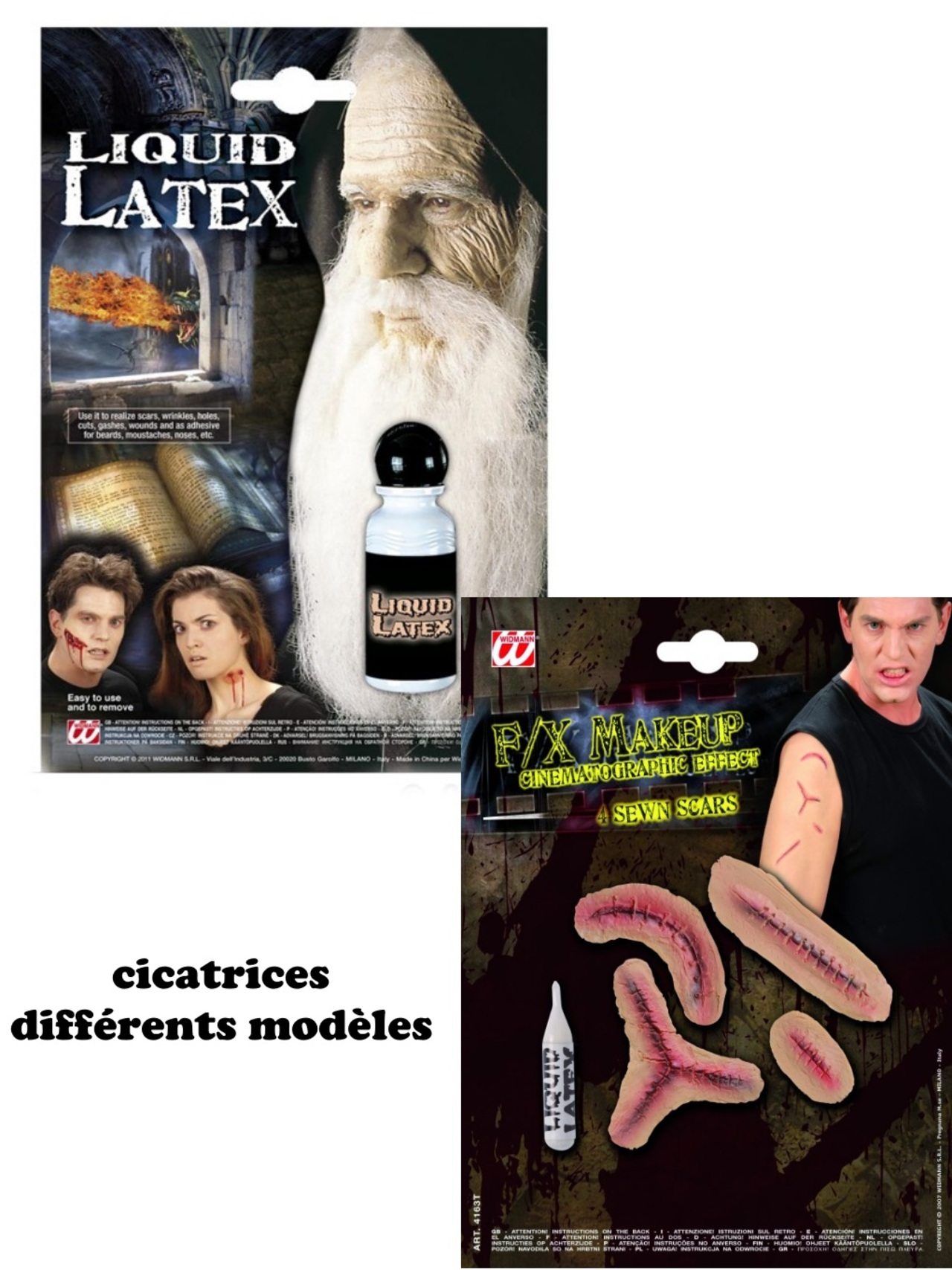 Latex cicatrices