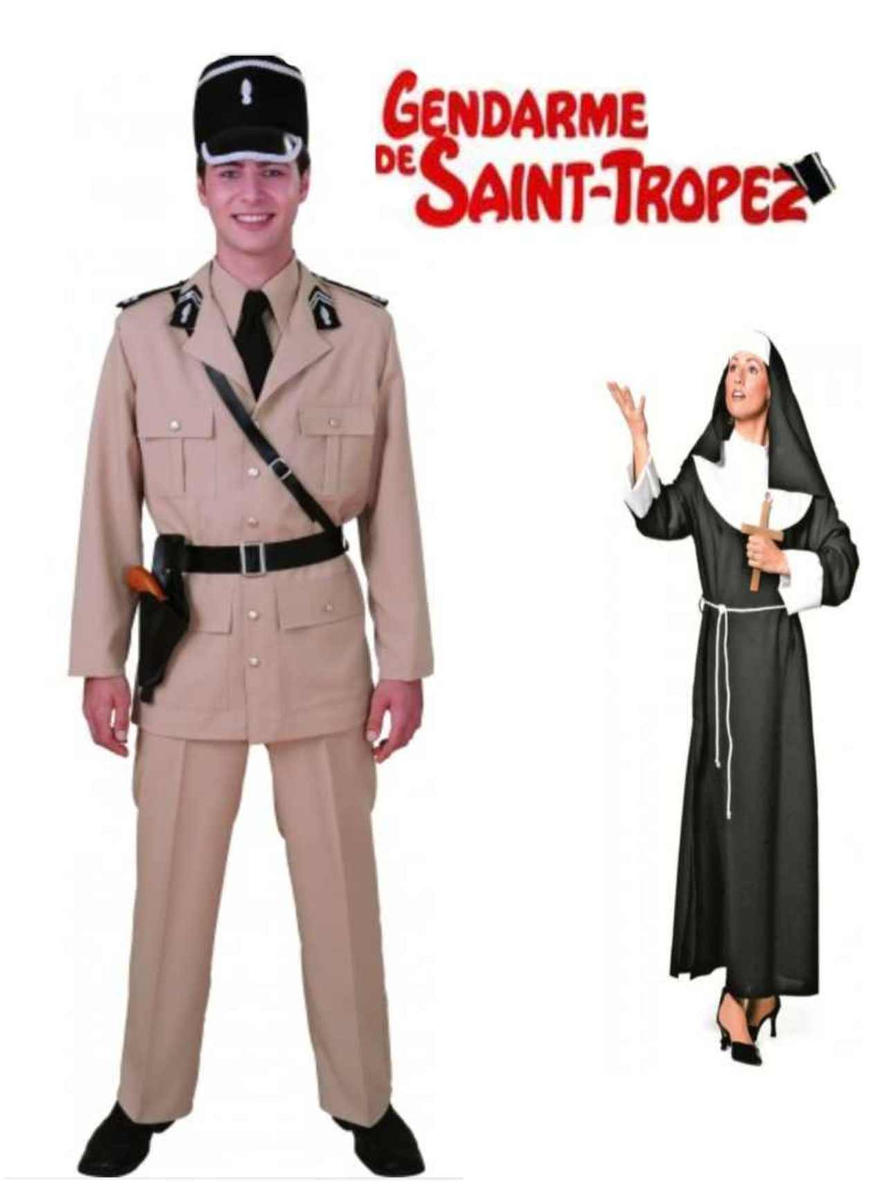 Couple gendarme st tropez