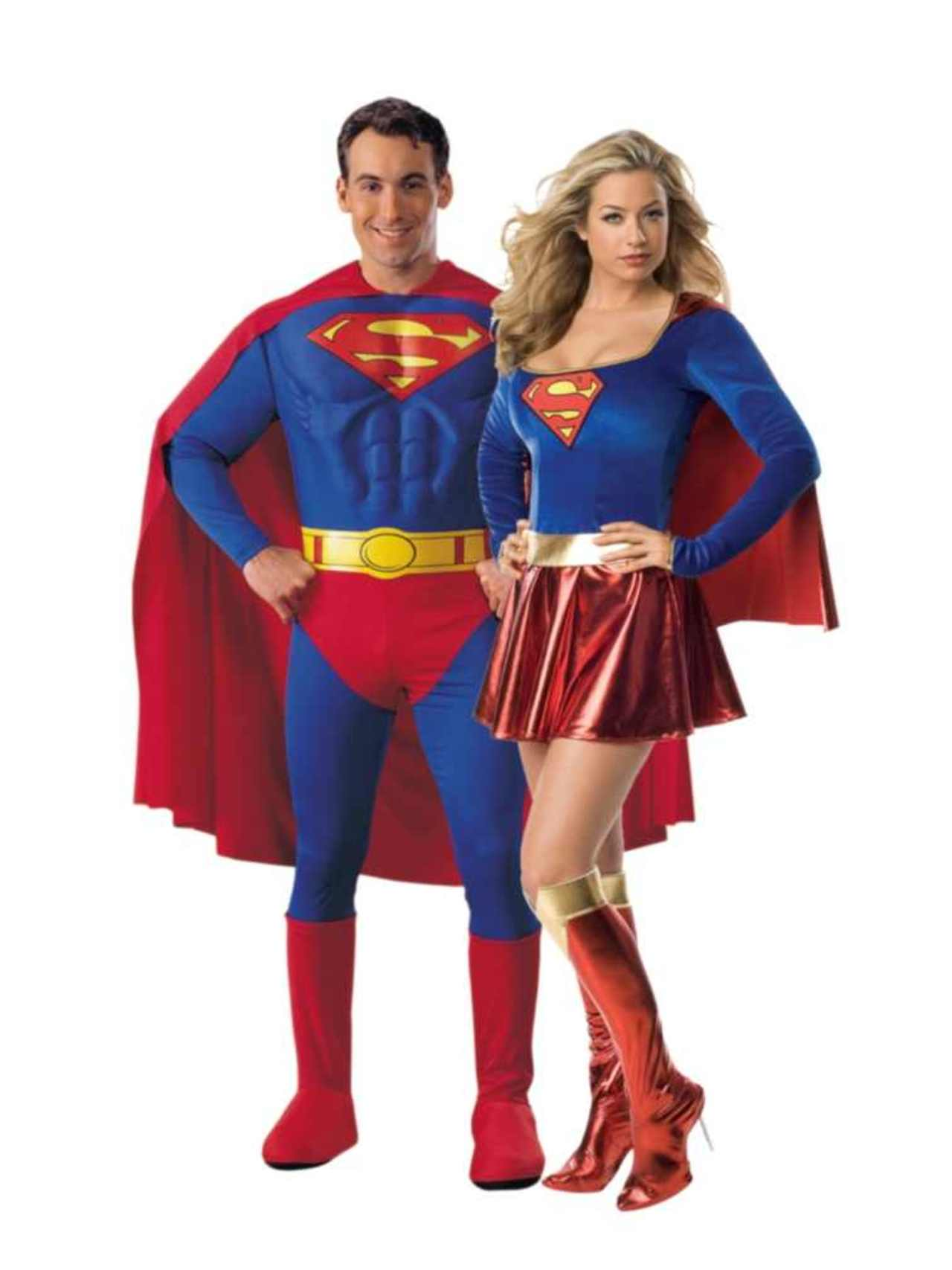 Couple super heros superman2